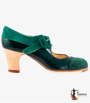 flamenco shoes professional for woman - Begoña Cervera - Tricolor II Professional flamenco shoe Begoña Cervera