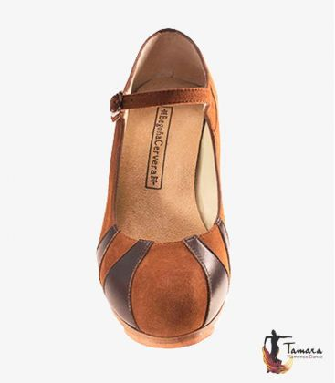 flamenco shoes professional for woman - Begoña Cervera - Triangulos Professional flamenco shoe Begoña Cervera