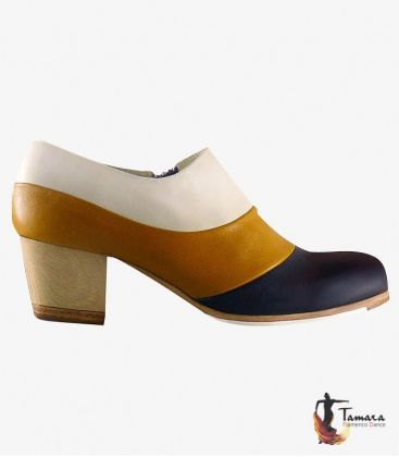 flamenco shoes professional for woman - Begoña Cervera - Tricolor - Customizable