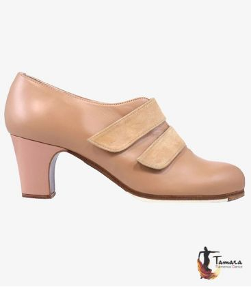 flamenco shoes professional for woman - Begoña Cervera - Velcro 2 Belts - Customizable