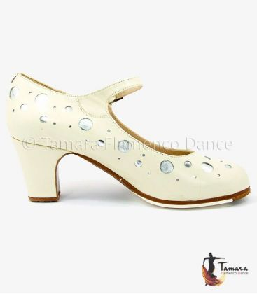 flamenco shoes professional for woman - Begoña Cervera - Topos - Professional flamenco shoe Begoña Cervera