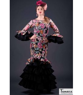 flamenco dresses woman in stock immediate shipping - Roal - Size 36 - Estepona Colorido (Same as photo)