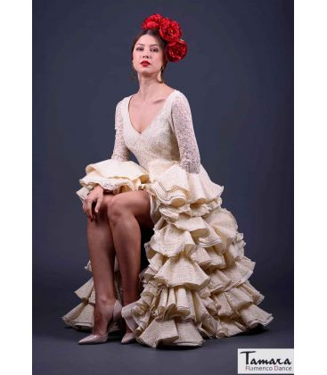 flamenco dresses in stock woman 24h delivery - Roal - Size 40 - Graciela Ivory (Same photo)