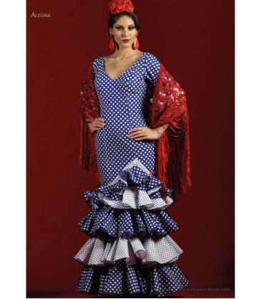 flamenco dresses woman in stock immediate shipping - Roal - Size 44 - Alegria (Same photo)