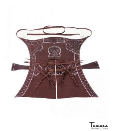 traje corto andalusian costume for men unisex - - Zahón of leather