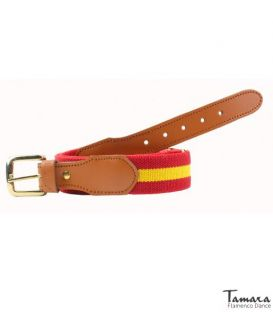 Belt with spanish flag - Design 1