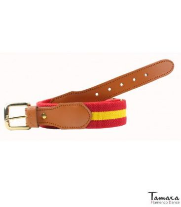 andalusian belts - - Belt with spanish flag