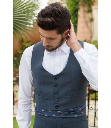 traje corto andalusian costume for men unisex - - Alpaca wool costume - Men