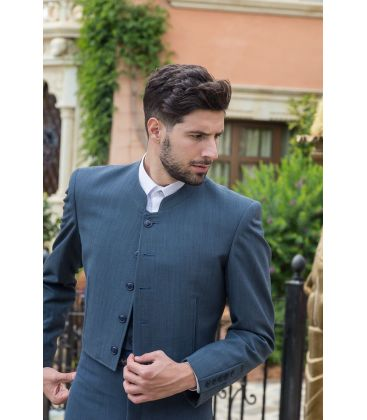 traje corto andalusian costume for men unisex - - Alpaca wool Andalusian costume - Men