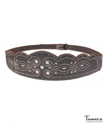 andalusian belts - - Women's spanish leather belt - Design 2