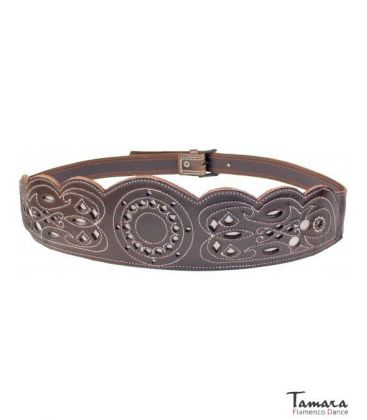 andalusian belts - - Women's spanish leather belt - Design 3