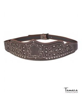 andalusian belts - - Women's spanish leather belt - Design 4