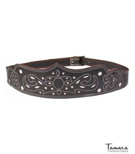 Women's spanish leather belt - Design 5