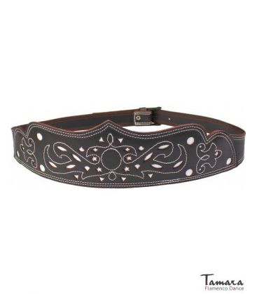andalusian belts - - Women's spanish leather belt - Design 5