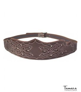 andalusian belts - - Women's spanish leather belt - Design 6