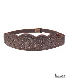 Women's spanish leather belt - Design 1