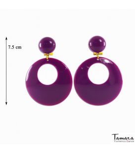 Flamenco Earrings - Large Pasta