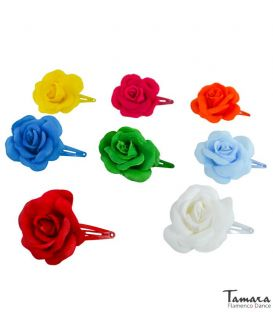 Flamenco flower with clip