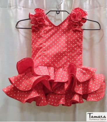 flamenco dresses girl in stock immediate shipping - - Flamenca dress Pepita girl