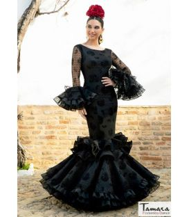Flamenco dress Abanico lace