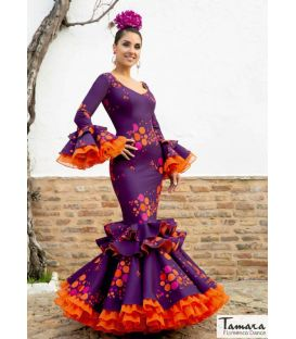 woman flamenco dresses 2020 by order - Aires de Feria - Flamenco dress Abanico