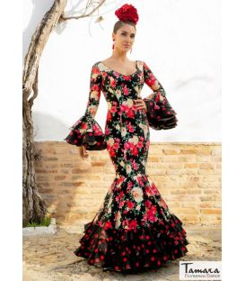 robes de flamenco 2020 femme sur demande - Aires de Feria - Robe Flamenco Gala Estampado