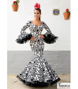 woman flamenco dresses 2020 by order - Aires de Feria - Flamenco dress Albero print