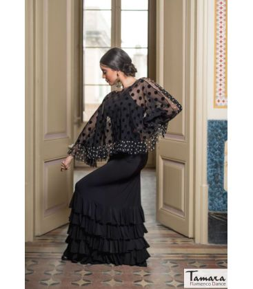 flamenco skirts for woman - - Monica skirt - Elastic knitted
