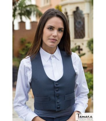 traje corto andalusian costume for woman - - Country Spanish costume Filo wool - Woman