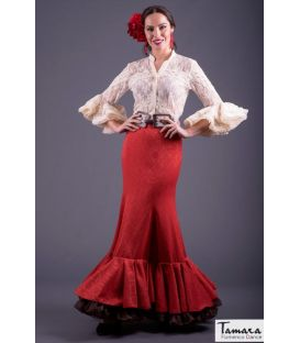 blouses and flamenco skirts in stock immediate shipment - Roal - Flamenco skirt Size 40 - Arenal coral