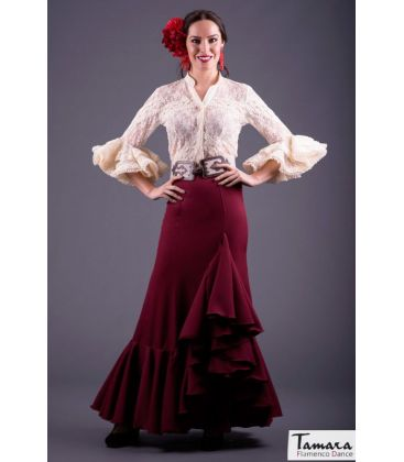 blouses and flamenco skirts in stock immediate shipment - Roal - Flamenca skirt Size 40 - Salinas burdeos