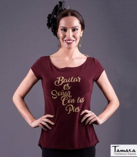 maillots bodys flamenco tops for woman - - Flamenco top T-shirt flamenco dance costumes