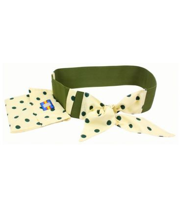andalusian belts - - Elastic Belt with Flamenco Polka Dots