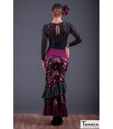flamenco skirts for woman - - Opalo - Knitted