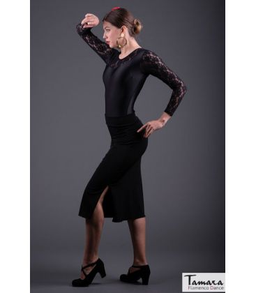 flamenco skirts for woman - - Cantares - Elastic knit