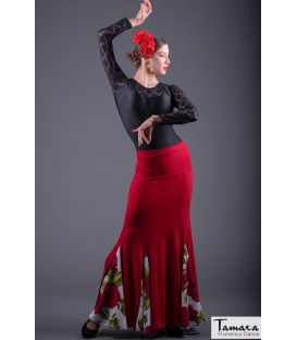 Zalea flamenco skirt - Elastic knit
