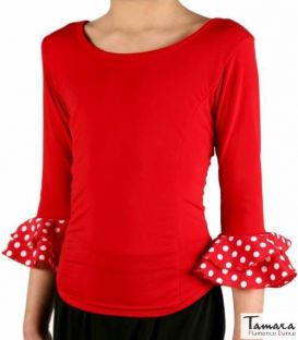 maillots bodys flamenco tops for girl - Top Flamenco TAMARA Flamenco - Lolita T-shirt - Elastic knit