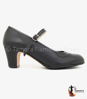 trainning flamenco shoes semiprofessional - - High Semiprofessional Leather - Strap TAMARA