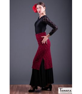 flamenco skirts for woman - - Overskirt Bailaora - Lace
