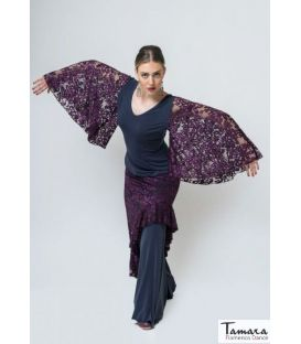 Trianera - Elastic Knit and Lace
