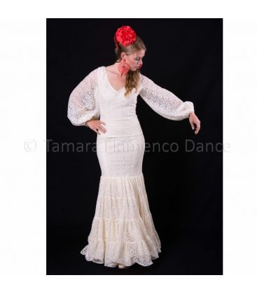 woman flamenco dresses 2015 - Roal - Size 38 Ensemble Cristina Ivory