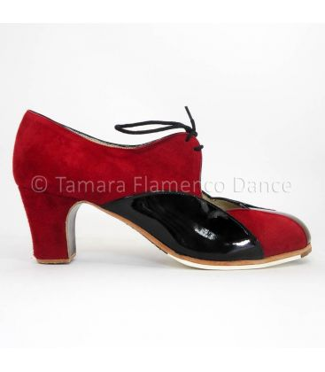 flamenco shoes professional for woman - Begoña Cervera - Acuarela Cordones