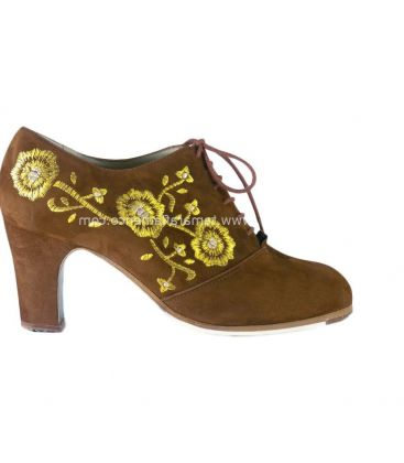 flamenco shoes professional for woman - Begoña Cervera - Ingles Bordado (embroidered)