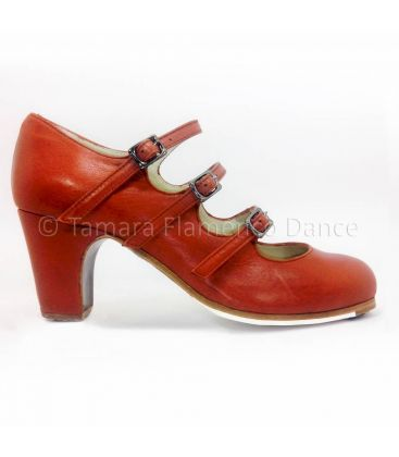 flamenco shoes professional for woman - Begoña Cervera - flamenco shoe begoña cervera 3 correas rubi