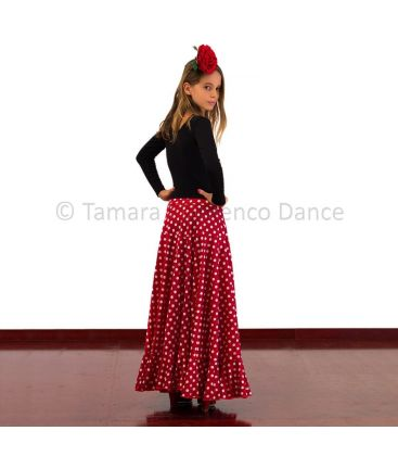 flamenco skirts for girl - - Sevillana Polka dots girl