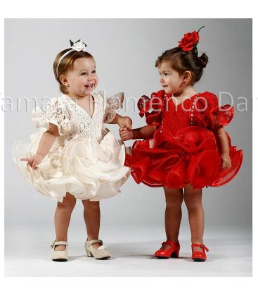 girl flamenco dresses 2015 - Roal - girl flamenco dress alegria red