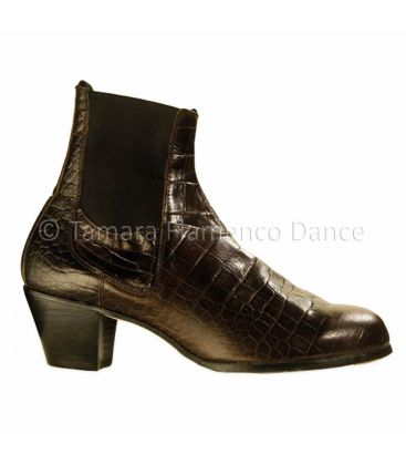 in stock flamenco shoes begona cervera - Begoña Cervera - Boto II snake leather