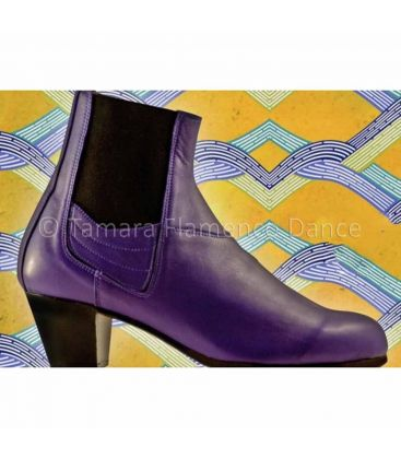 in stock flamenco shoes begona cervera - Begoña Cervera - Boto II purple leather