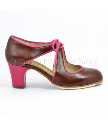flamenco shoes professional for woman - Begoña Cervera - Escote