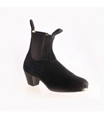 in stock flamenco shoes professionals - Begoña Cervera - Boto with zipper